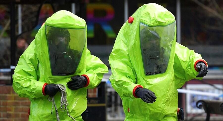 Britiske kemikere meddelte tirsdag, at de ikke er i stand til at bevise, at nervegift, som blev brugt ved angrebet i Salisbury, kom fra Rusland.