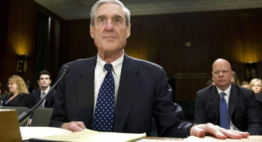 Robert Mueller undersøger, om Rusland blandede sig i valgkampen op til præsidentvalget i 2016.