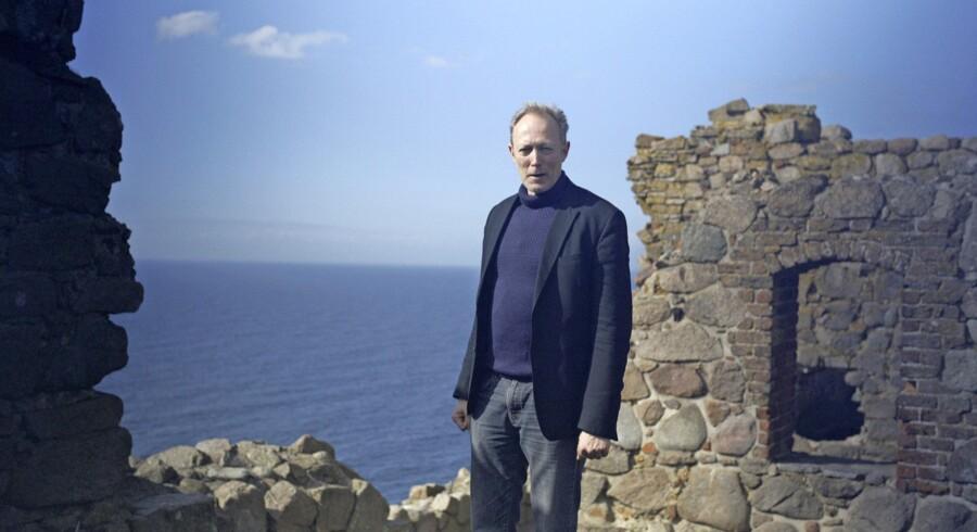 I DRs stort anlagte søndagsserie om Danmarks historie fortalte Lars Mikkelsen, at vi altid »har været en mægtig søfartsnation«. Foto: Morten Krüger/DR