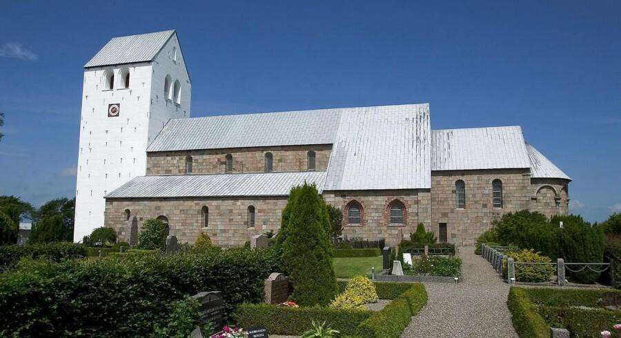 Vestervig Kirke. Danmarks størst landsbykirke.