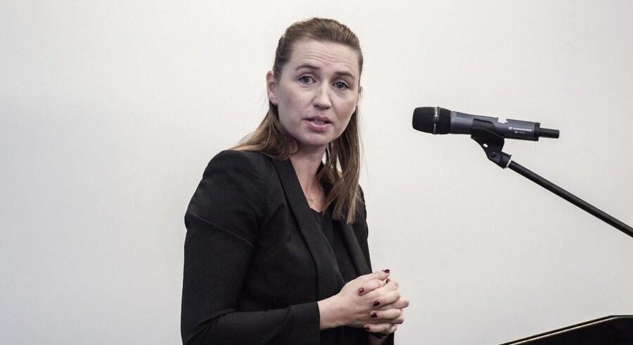 Mette Frederiksen (S), formand for Socialdemokratiet.