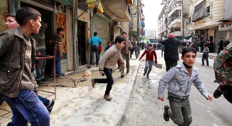 Arkivfoto. Syrien vil fortsat bløde i 2018