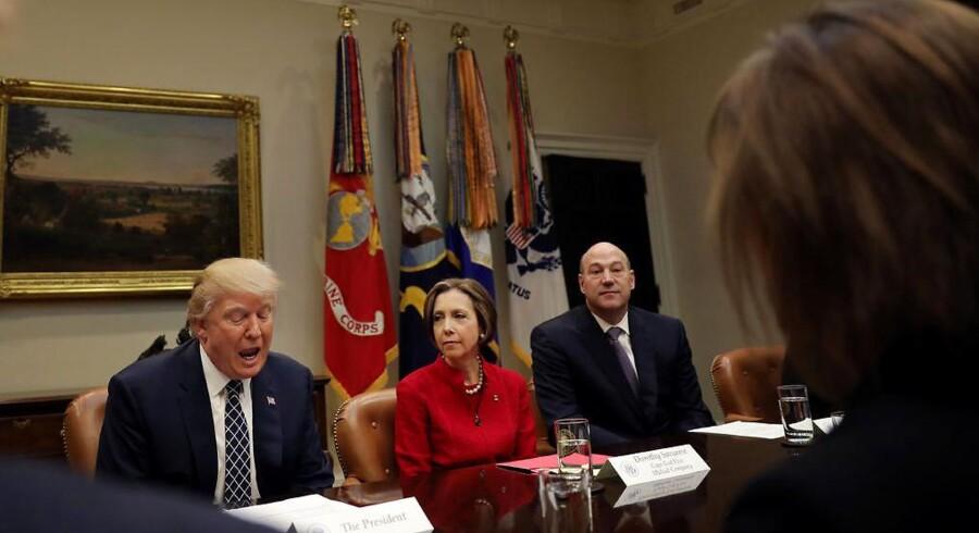 Arkivfoto. Gary Cohn, der rådgiver Det Hvide Hus omkring økonomisk politik, har angiveligt talt varmt om Glass-Steagall-inspirerede tiltag til opsplitning af storbankers investerings- og detailforretninger over for amerikanske kongresmedlemmer.