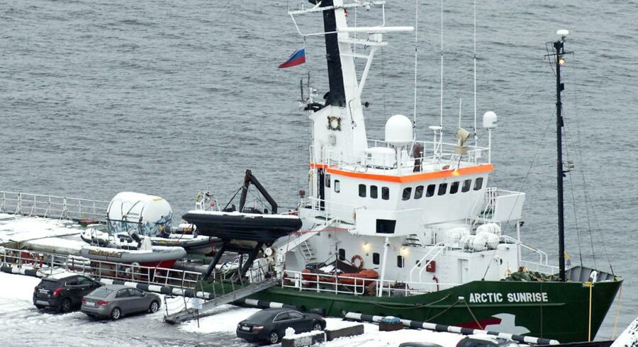 Arkivfoto: Rusland afviser afgørelse om erstatning for Arctic Sunrise.