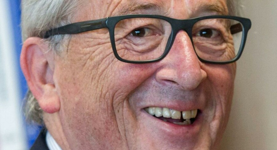 En god dag for EU-Kommissionens formand, Jean-Claude Juncker. Han er nu klar med et initiativ, der skal vise, at EU er til for borgernes skyld: gratis wifi. EPA/STEPHANIE LECOCQ