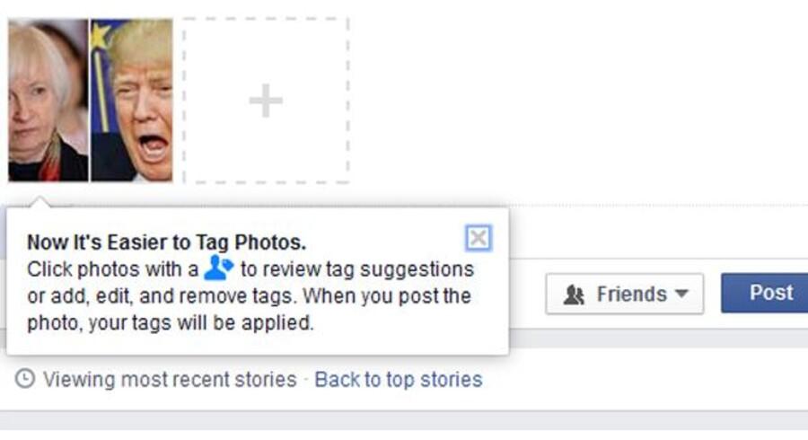 Når man lægger billeder på Facebook, kikker Facebooks software i sin database for at se, om ansigtstrækkene kan genkendes, og foreslår derefter et navn på den person, der er på billedet. Men flere brugere siger, at de aldrig har givet Facebook lov til at gemme deres biometriske data.