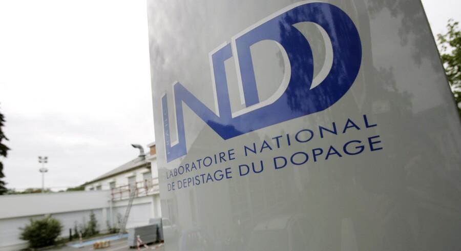 Frankrigs nationale antidopinglaboratorie er blevet genåbnet. Scanpix/Fred Dufour