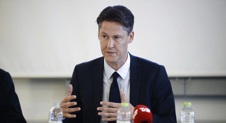 Overvismand Michael Svarer tror på pæn vækst i den danske økonomi i år og til næste år.