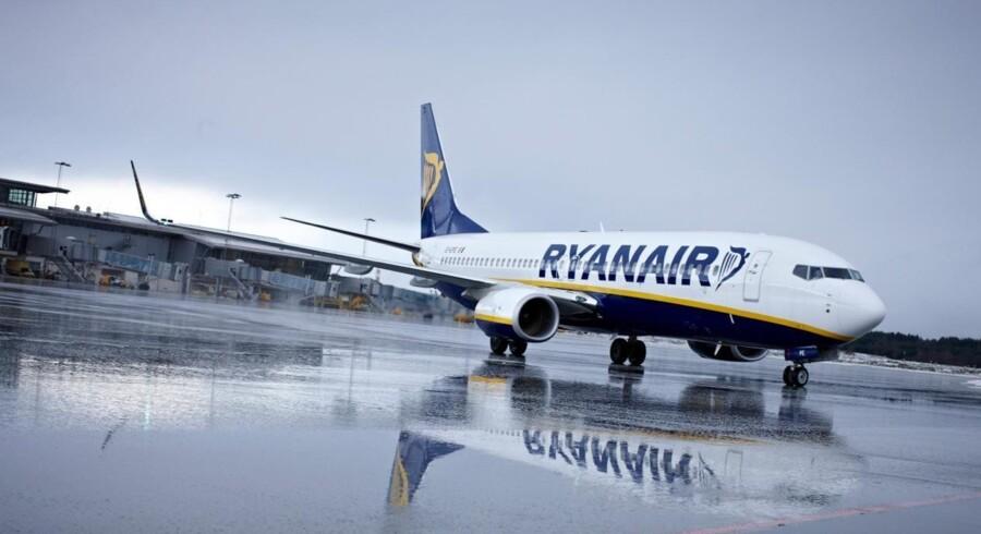 Ryanair presser sine ansatte til at sælge mere. Free/Pressefoto / Ryanair
