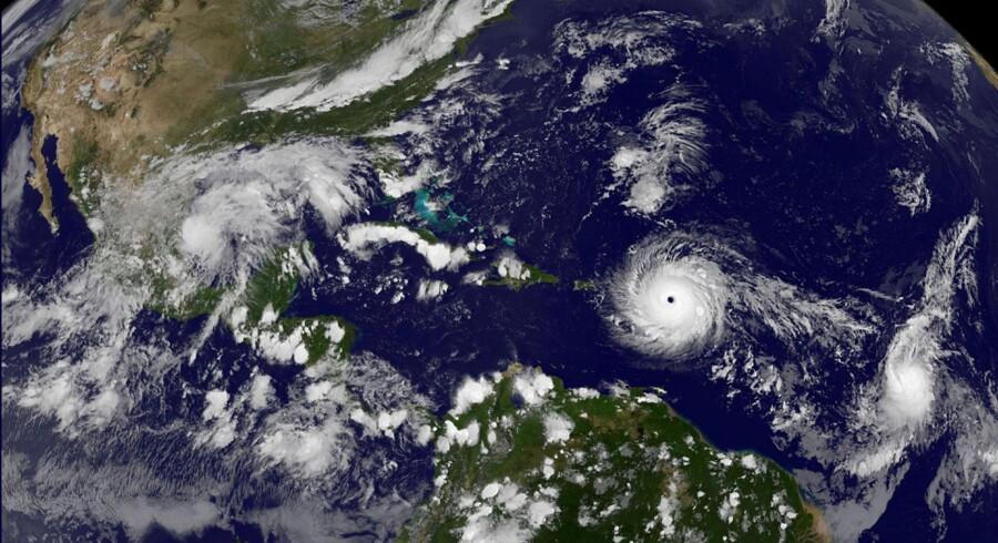Irma er en af kraftigste atlanterhavsstorme i et århundrede.