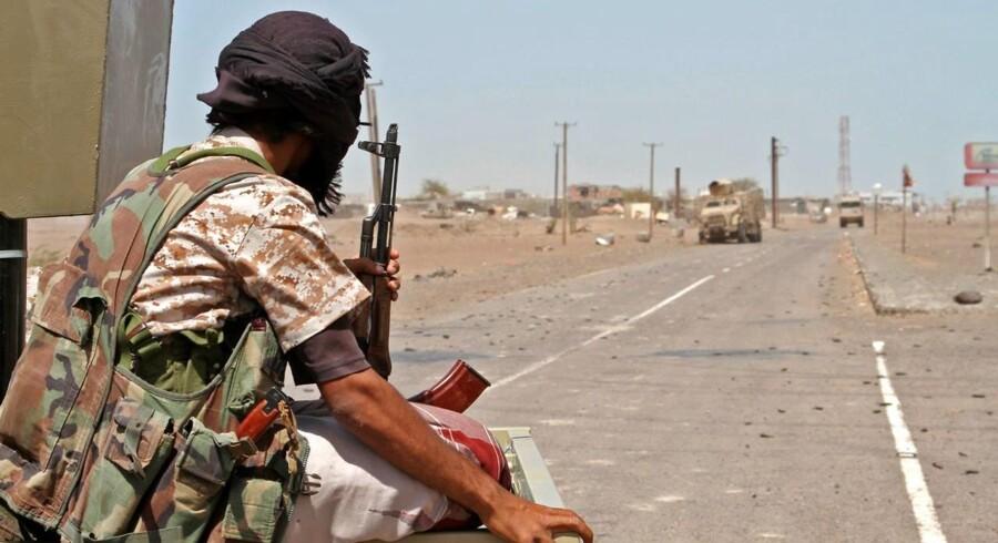 Foto fra byen al-Bab.