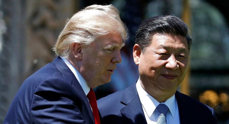 Den amerikanske og kinesiske præsident nærmer sig hinanden på randen af en handelskrig.