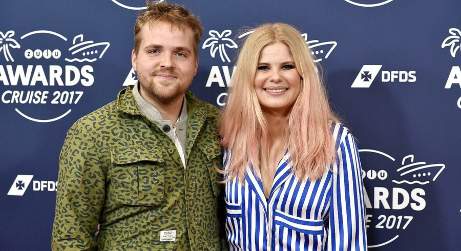 Sofie Linde og Joakim Ingversen. Joakim Ingversen skal være vært på X Factor i stedet for hustruen Sofie Linde, som lige har født.