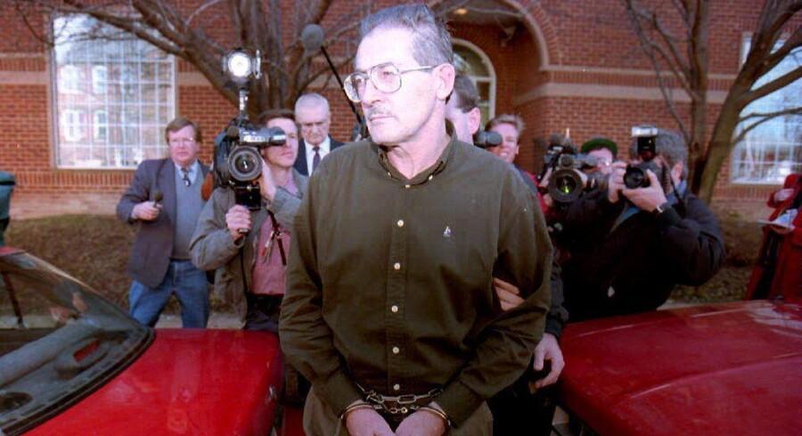 Aldrich Ames er en tidligere agent og analytiker for CIA. Han blev i 1994 anholdt for spionage mod USA som muldvarp for den sovjetiske efterretningstjeneste KGB (arkivfoto). Scanpix/Luke Frazza