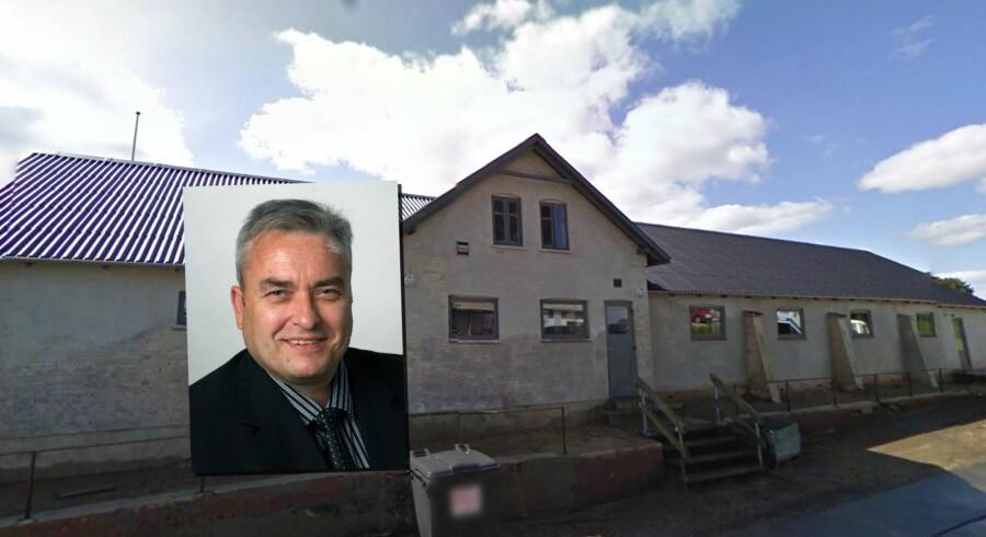 Per Zeidler er sigtet for rufferi i sagen om arrangement af gangbangs. Foto: pressefoto Syddjurs Kommune/Google Streetview