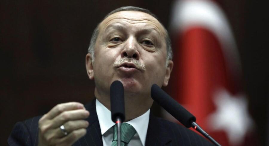 Recep Tayyip Erdogan, Tyrkiets præsident.