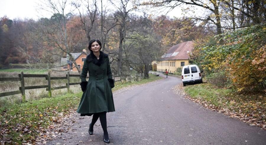 Portræt af Lyngby-Taarbæks konservative borgmester Sofia Osmani.