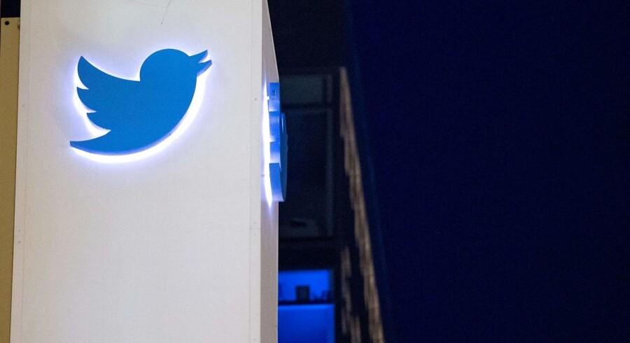 Twitter er i gang med en større oprydning blandt tvivlsomme brugere. Arkivfoto: Josh Edelson, AFP/Scanpix