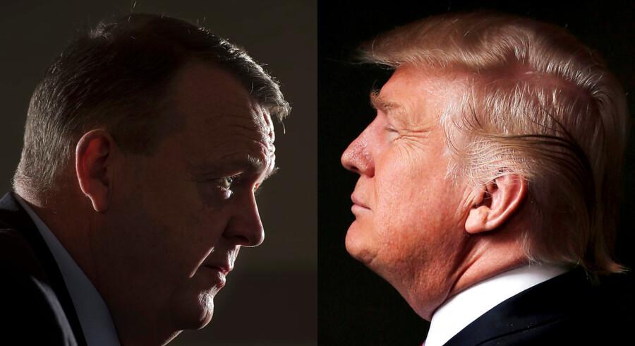 Trump og Løkke