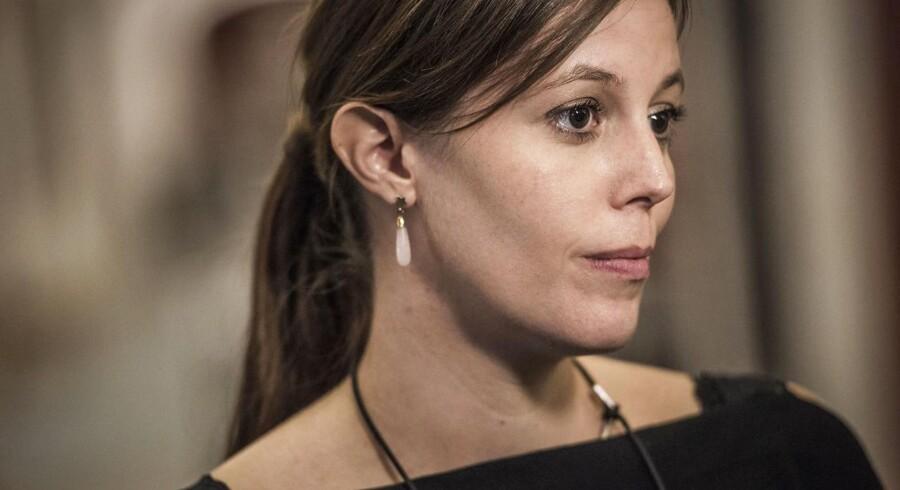 »De skriver, om jeg har lyst til at dø. At jeg ikke skal føle mig tryg på gaden,« fortæller de Konservatives politiske ordfører, Mai Mercado, om de dødstrusler, hun modtager. (Foto: Asger Ladefoged/Scanpix 2016)