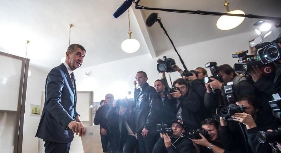Den slovakisk fødte forretningsmand Andrej Babis og hans parti ANO står til at få flest stemmer ved det Tjekkiske parlamentsvalg.
