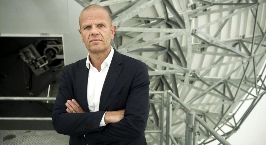 Portræt af Lars Findsen, chef for Forsvarets Efterretningstjeneste.