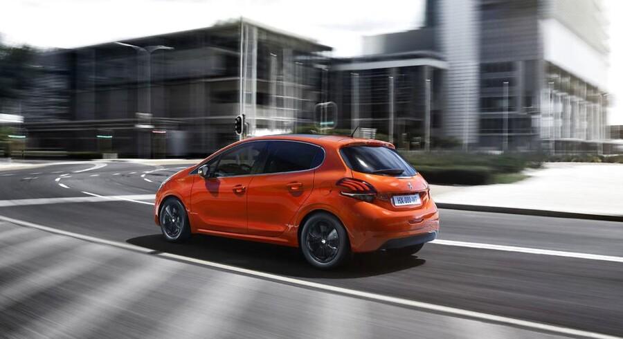 Den franske B-segmentbil Peugeot 208 er absolutte bestseller i Danmark indtil videre i 2017