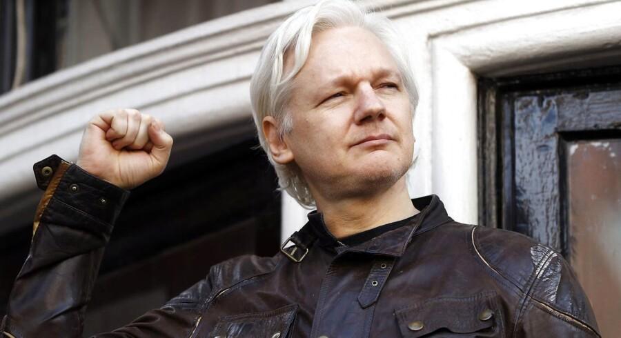 Julian Assange ønsker, at retten i London dropper en arrestordre mod ham. Arkivfoto.