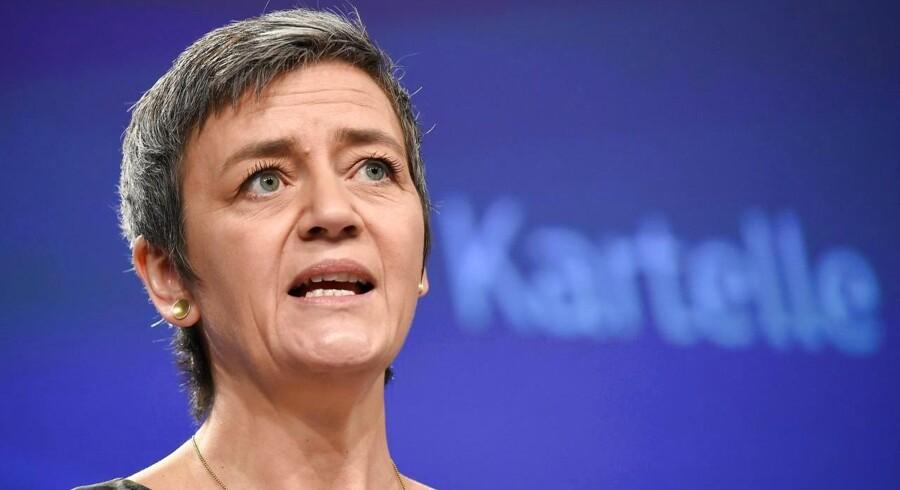 Det forventes, at Margrethe Vestager i dag vil præsentere endnu et våben i kampen for at få fat i IT-giganters skattekroner.