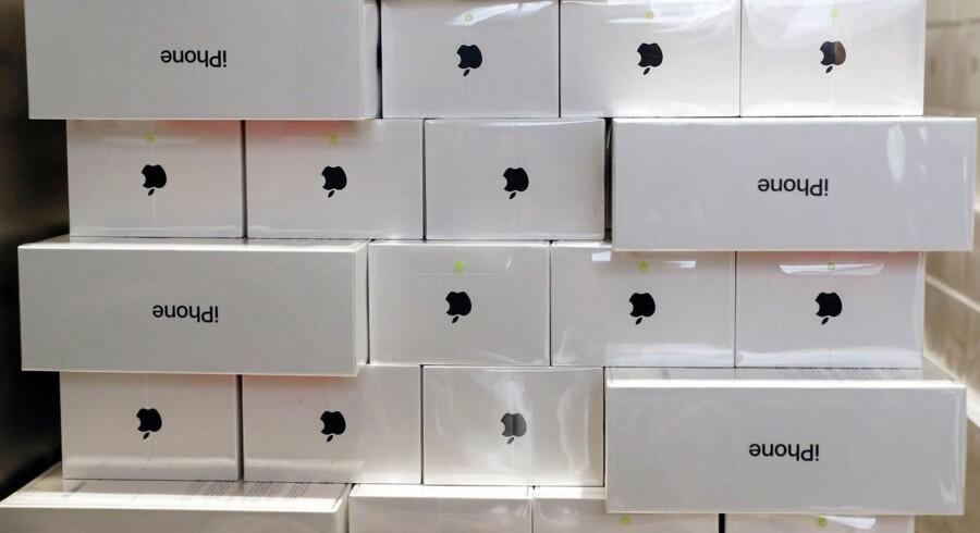 iPhone X er Apples dyreste telefon - og det redder tilsyneladende Apple, som skal have solgt færre telefoner end ventet. Arkivfoto: Edgar Su, Reuters/Scanpix