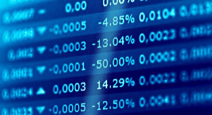 Stockfoto: De amerikanske aktier lukkede med kursfald mandag, hvor et skuffende bilsalg var med til at ødelægge stemningen, der i forvejen er tynget af spørgsmålstegn ved den nye regerings evne til at levere den lovede pro-business politik.