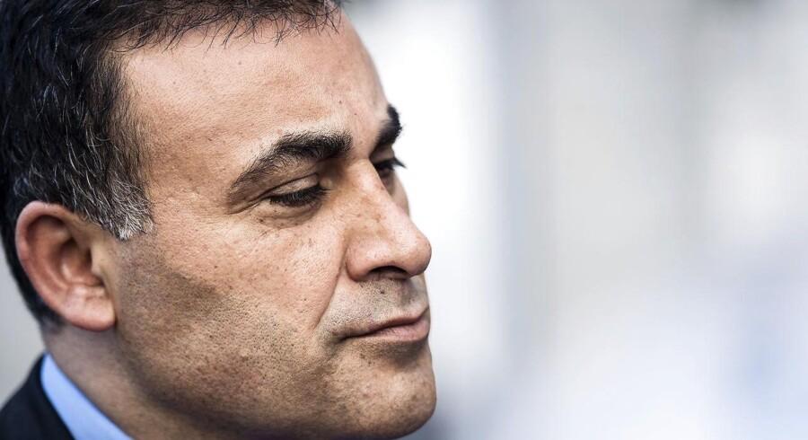 Den konservative gruppeformand lægger afstand til partifællen Naser Khader i sag om Exitcirklen.