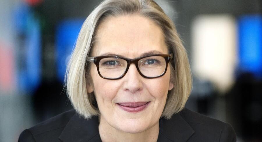 DRs generaldirektør, Maria Rørbye Rønn, forklarer, at ledelsen længe har arbejdet med udflytningsplanerne, der skal sikre, at der bliver produceret relevante programmer for hele befolkningen. Foto: Scanpix