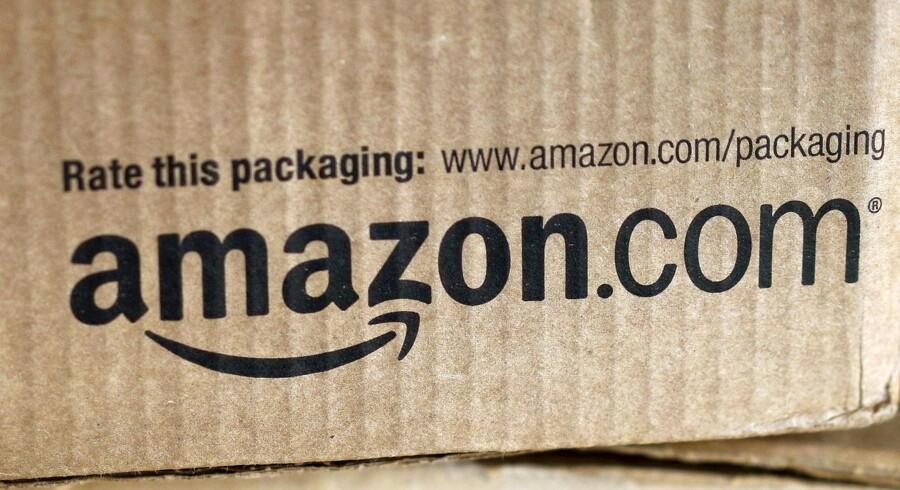 Amazon er fuld af hemmeligheder - også i selve logoet. Arkivfoto: Rick Wilking, Reuters/Scanpix