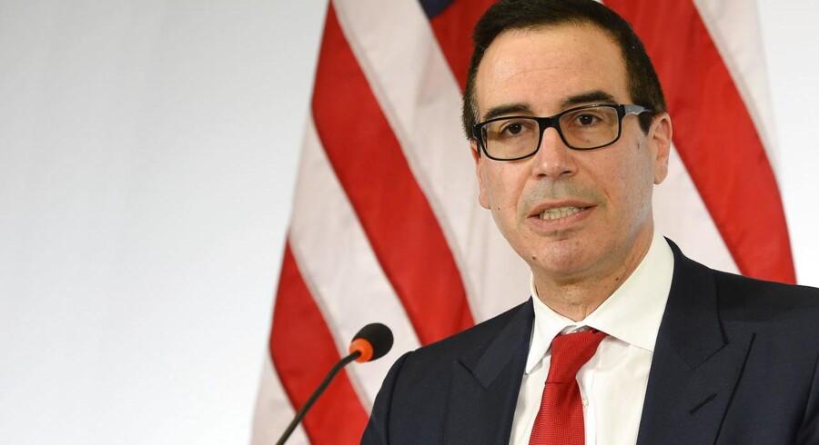 ARKIVFOTO: Den amerikanske finansminister Steven Mnuchin
