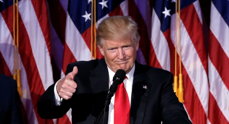 Cepos håber på, at Donald Trump gennemgår sine økonomiske planer. REUTERS/Mike Segar Reuters/Mike Segar