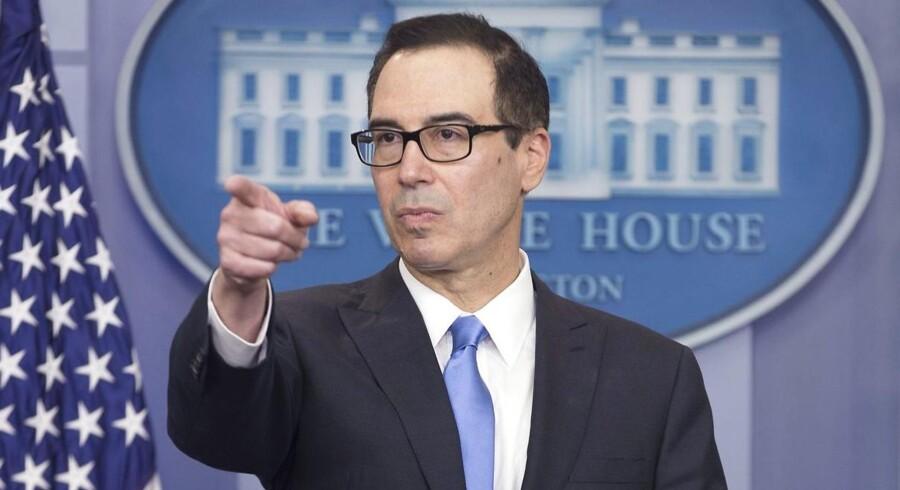 Ifølge finansminister Steven Mnuchin skal sanktionerne vise Syriens præsident, Bashar al-Assad, at gasangreb aldrig kan accepteres.