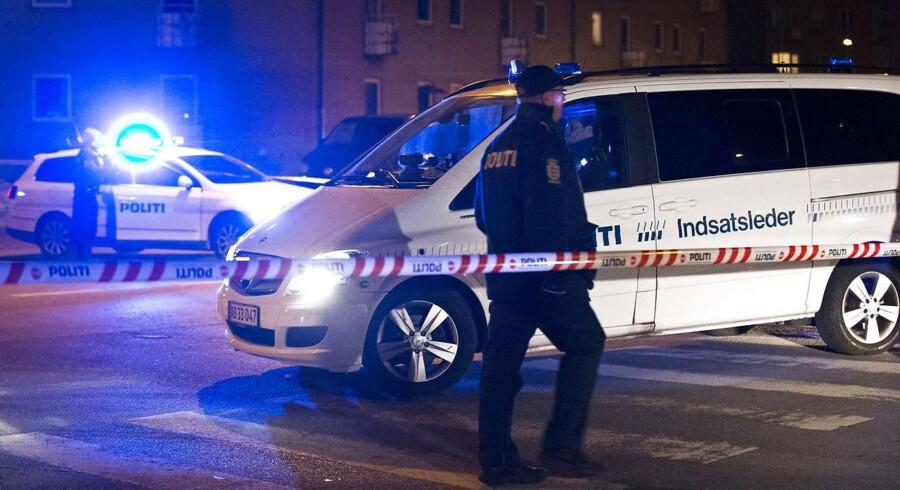 Politiet har fået meldinger om skud i Tingbjerg lørdag aften. Arkivfoto: Martin Sylvest Andersen/Scanpix 2013)