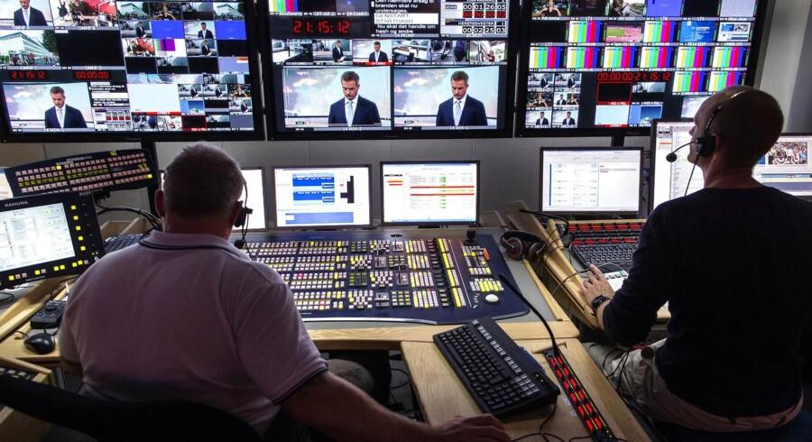 DR2 fylder 20 år. Vi har talt med chefen, ekschefen og en afgående medarbejder om kanalen. (Arkivfoto: Jens Astrup/Scanpix 2012)