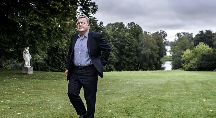 Når Lars Løkke Rasmussen (V) gør status efter regeringsseminaret i Esbjerg, vil han også tale om udlændingepolitik.