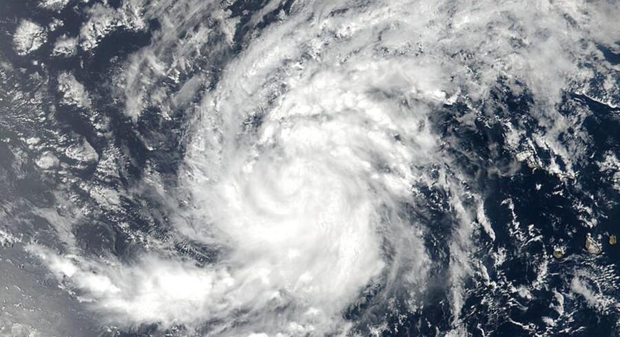 Nyt og voldsomt vejrsystem i Atlanterhavet. Det er orkanen Irma, og den er på vej mod Caribien.