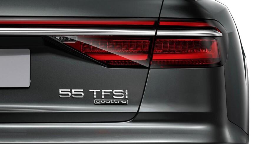 Stærk eller svag, stor eller lille motor? Fremover forsvinder motorstørrelsen fra bagklappen på Audis modeller, og tocifrede tal afslører den hierarkiske orden mellem motorer