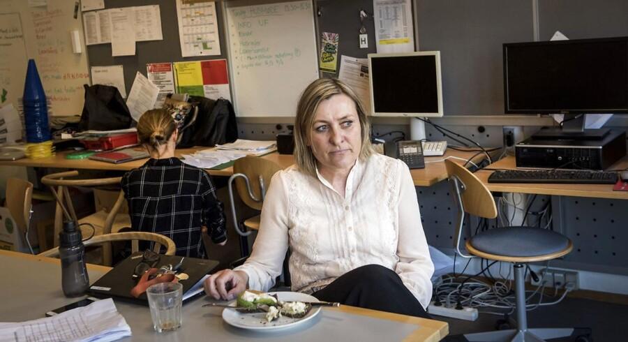 Ulla Binderup på 53 år har arbejdet som lærer på Peder Lykke Skolen i 24 år.