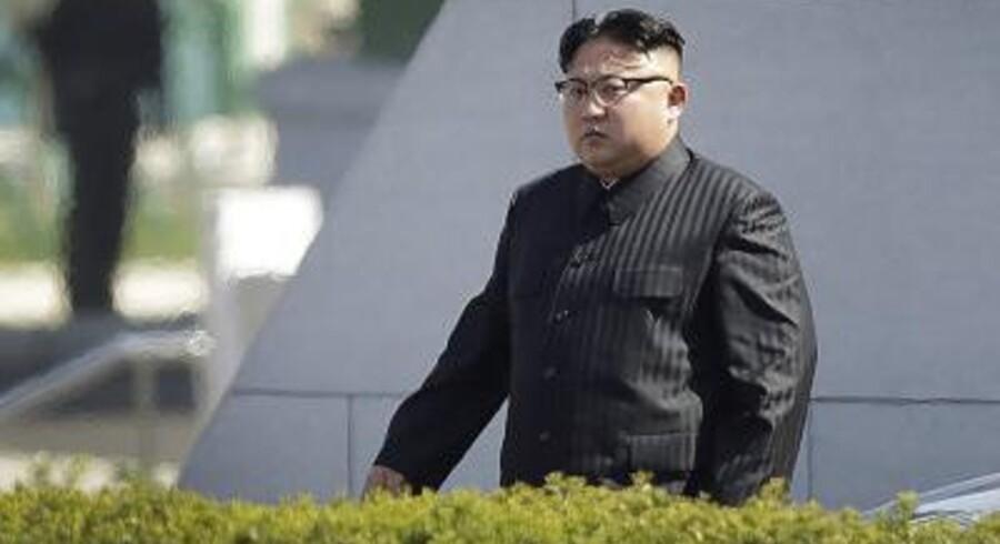 Arkivfoto. Satellitbilleder viser, at en atomtest kan være på vej i den nordlige del af Nordkorea.