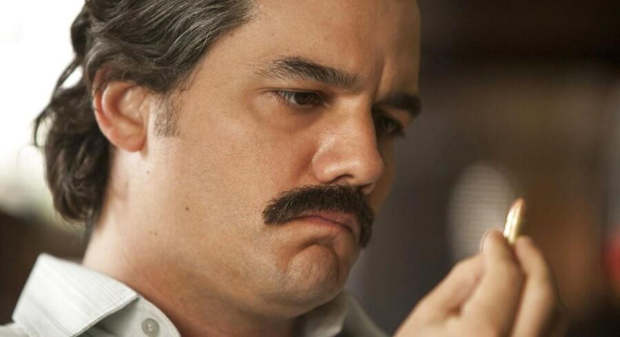 I TV-serien Narcos spilles Pablo Escobar af den brasilianske skuespiller Wagner Moura.
