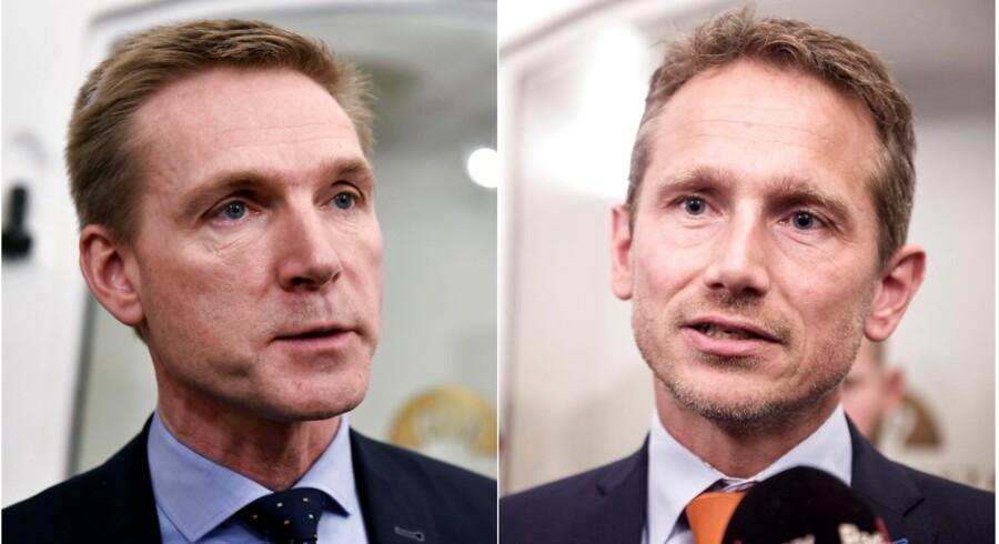 Kristian Jensens (V) første svendeprøve som finansminister endte med et besværligt forløb. Det skyldes blandt andet hans manglende erfaring med at arbejde tæt sammen med Dansk Folkeparti, mener DF-formand Kristian Thulesen Dahl.