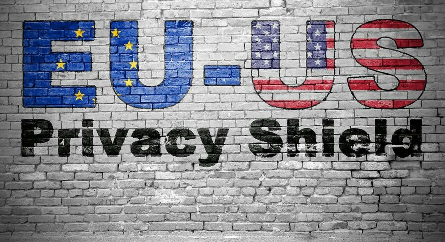Det holdt hårdt for EU og USA at komme overens om, hvordan europæere kan føle sig sikre på, at deres personlige data kan ligge på en server i USA uden frygt for overvågning og aflytning. Nu trues den kun et halvt år gamle dataaftale af et dekret fra USAs nye præsident. Arkivfoto: Iris/Scanpix