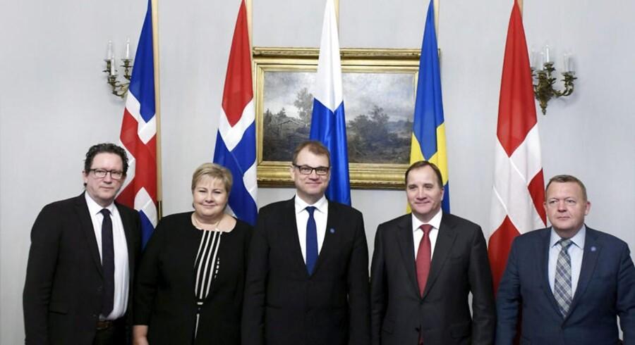 De nordiske lande er vidne til det værste trusselsbillede siden den kolde krig, siger Løkke i Nordisk Råd.