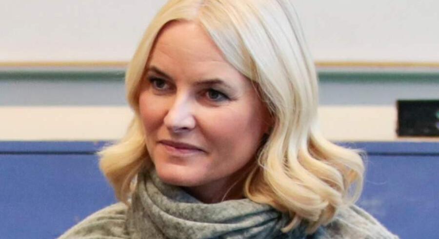 Kronprinsesse Mette-Marit blev ramt af og behandlet for krystalsyge i november 2017. Scanpix/Lise Aaserud