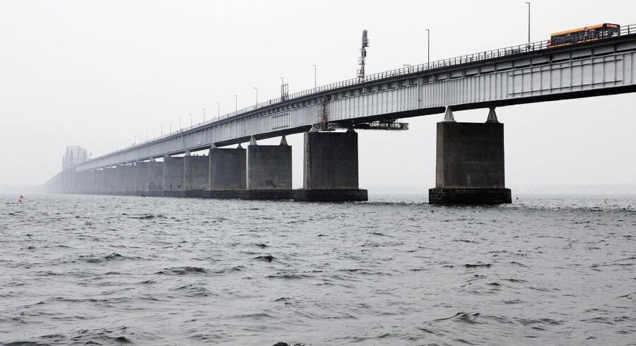 (ARKIV) Den gamle Storstrømsbro.